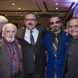 Yvon, Pat Gonsalves, Mario and Miguel Duhamel