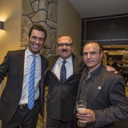 Carl Vaillancourt, Pat Gonsalves and Miguel Duhamel