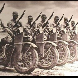 Military Motorcycle Riders