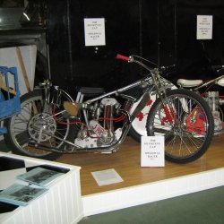 Canadian Vintage Motorcycle  Museum display