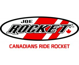Joe Rocket logo with text Canadians Ride Rocket